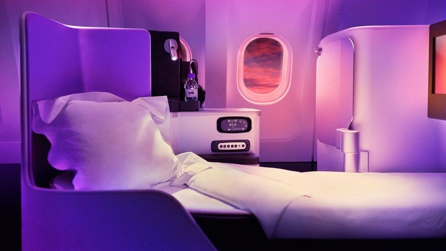Getting A Good Night's Sleep on a Business Class Flight