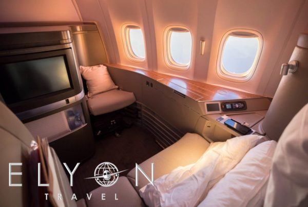 CATHAY PACIFIC – FIRST CLASS