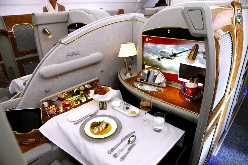 flying image of business class